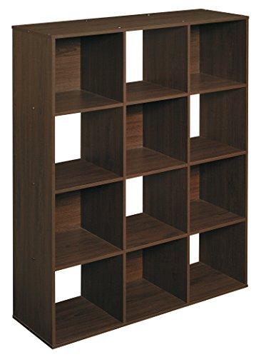 closetmaid 1292 cubeicals organizer 12 cube espresso buy online in uae home garden. Black Bedroom Furniture Sets. Home Design Ideas