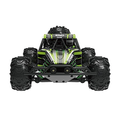 Novcolxya Model RC Car 1/18 Scale Pickup Truck High Speed 30MPH Off-Road Electric 2.4Ghz Radio Remote Control Buggy Hobby 4WD Car [Green]