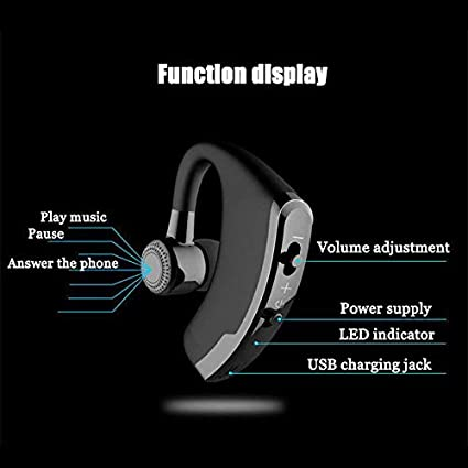 FidgetFidget Universal Wireless Bluetooth Headset Stereo Headphone Earphone Sport Handfree