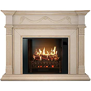 amazon com magikflame electric fireplace and mantel most rh amazon com