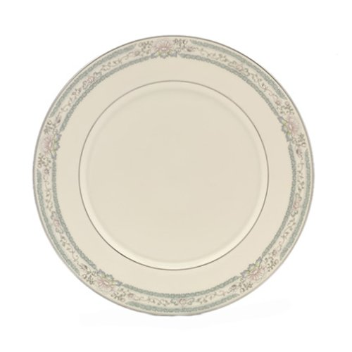 Lenox Charleston Platinum Banded Ivory China Dinner Plate