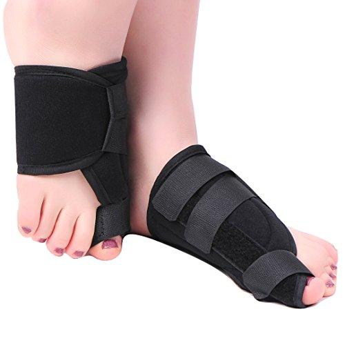 MEDIZED Quality Bunion Splint Pad Toe Hammer Separators Hallux Valgus Protector Bunion Corrector bunion Pads Toe Spacer Bunion Splint Straightener Bunion Bootie by MEDIZED (Image #4)