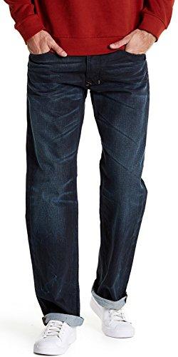(Diesel Men's Larkee Regular Straight Leg Jean R823I WASH W30 x L32 Blue )