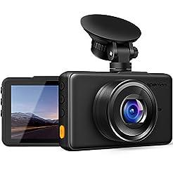 APEMAN Dash Cam 1080P FHD DVR Car Drivin...