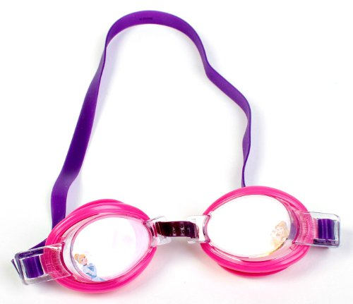 Disney Princess Splash Swim Goggles - Styles will (Princess Swimming Goggles)