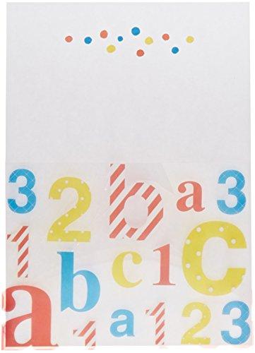 (Mara-Mi ABC 123 Baby Acetate Pocket Imprintable Invitation, 10-Count (46010) )