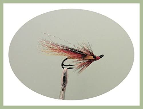 10 and 12 Willie Gunn x 3 salmon flies doubles and trebles sizes 8