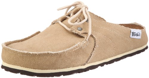 Birkis clogs Super Skipper in size 39.0 N EU made of Textile in Camel with a narrow insole