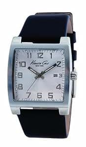Kenneth Cole KC1239 - Reloj de caballero con correa de piel - sumergible a 30 metros