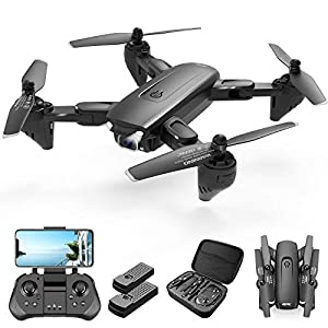 Flashandfocus.com 41N7B0wHNrL._SS300_ 4DRC Drone with 1080P Camera, 2 Batteriesand Carrying Case,HD FPV Live Video Camera,RC Quadcopter for Adults kids,with…