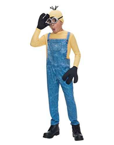 Kevin The Minion Child Costumes (R610785 (8-10) Boy Minion Kevin Costume)