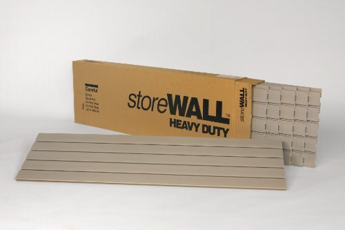 Weathered Grey Heavy Duty storeWALL Panel Case 4' L- 6/cs by StoreWALL