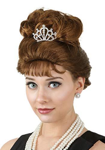 Fun Costumes Breakfast at Tiffany's Holly Golightly Wig Standard Auburn