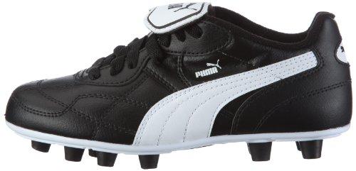 Puma Esito Classic FG Jr 102422, Unisex - Kinder, Sportschuhe - Fußball, Schwarz (black-white 01), EU 32 (UK 13) (US 1), Negro (Schwarz (black-white 01)), 39