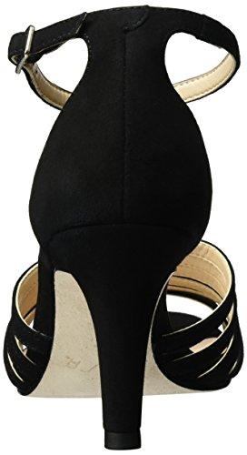Unisa Sandalias Negro ks Black Cuña Mujer Ocelo con para OrOHvw