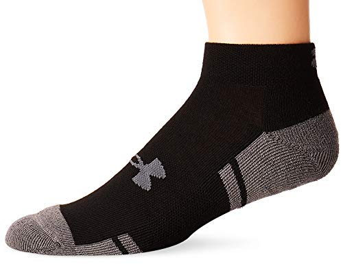 UNDER ARMOUR Men's UA Resistor 3 Lo Cut 6pk Black/Graphite LG 10-13 (Men's Shoe 9-12.5)