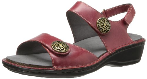 Candace Dark Women's Sandal Aravon Red wUxPRnwq