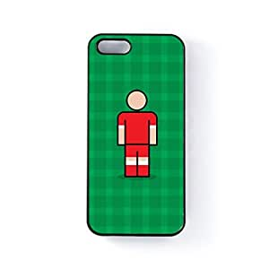 Accrington Black Hard Plastic Case for Apple? iPhone 5 / 5s by Blunt Football + FREE Crystal Clear Screen Protector