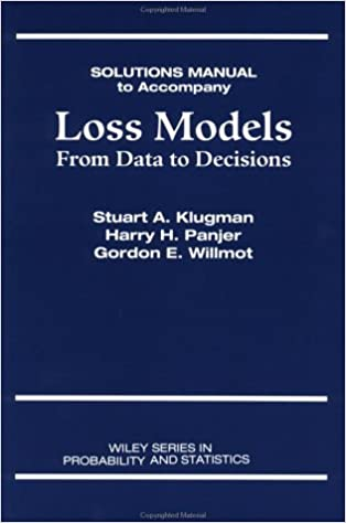Amazon loss models from data to decisions solutions manual loss models from data to decisions solutions manual 1st edition fandeluxe Gallery