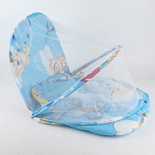 BianchiPamela Foldable New Baby Cotton Padded Mattress Pillow Bed Mosquito Net Tent
