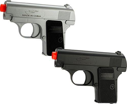 Evike Double Eagle Airsoft Dual Pocket Pistol Set with Gun ()