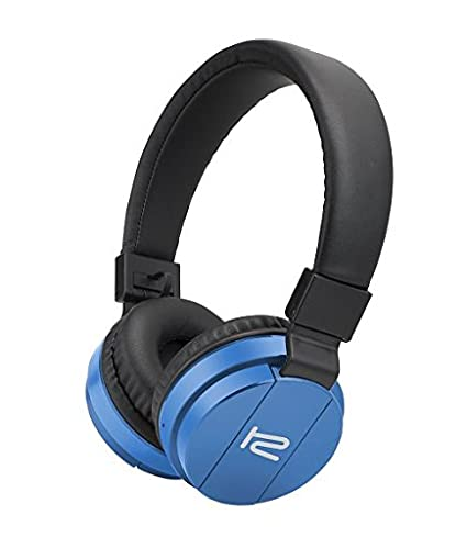 Amazon.com: Klip Xtreme Fury Stereo Bluetooth Wireless Headphones- On-ear with Built-in Microphone, Foldable & Lightweight- Soft Protein Leather Pads- Large ...