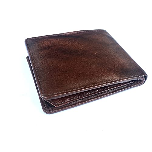 Leather Wallet for Men  Brown