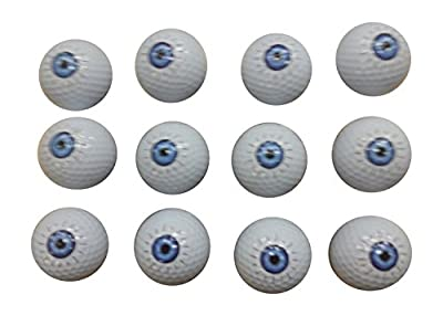Eyeball Golf Balls (12 Pack)