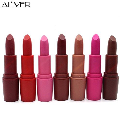 AL'IVER Matte Lipstick Long Lasting 8 Colors (49)