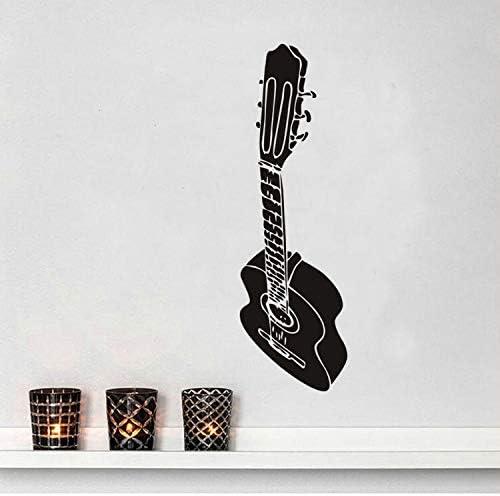 ZGQQQ Diseño De Arte Silueta De La Guitarra Decoración DIY ...
