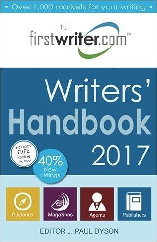 Writers' Handbook 2017 by J. Paul Dyson (2016-08-16)
