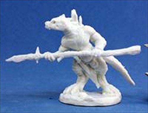 Lizardman Spearman (1) Miniature