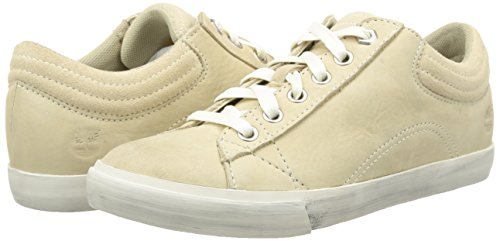 White Sneakers Timberland Women's top M Low Beige off Ca13a1 88wXf
