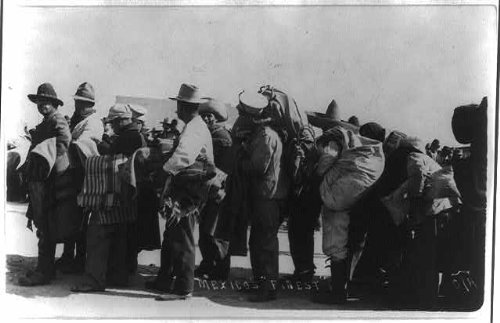 Photo: Group of Mexican men during the Mexican Revolution 1 (50th Wedding Anniversary Seafood Gift Baskets)