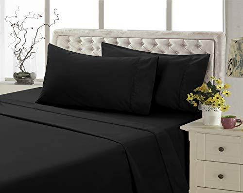 4U-EE California King, Brown 4U LIFE Ultra Soft Luxurious Microfiber Bed Sheet Set