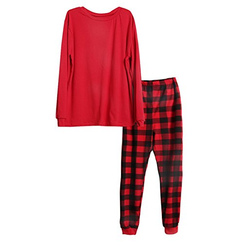 8981d7719c durable modeling Daxin Family Matching Clothes Santa Suit Christmas  Matching Family Pajama Set red