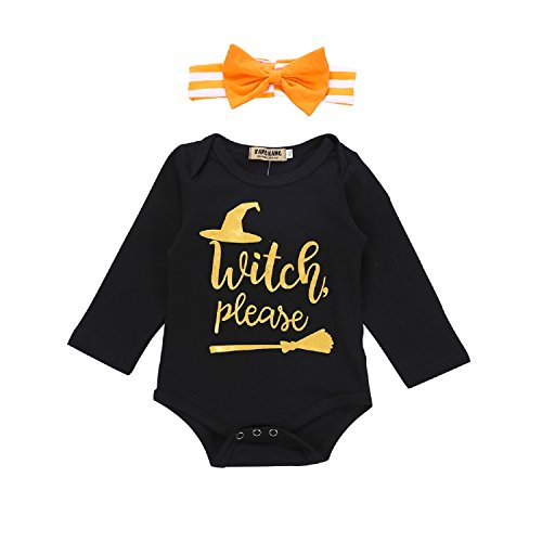Unmega Baby Girl Boy Halloween Outfit Long Sleeve