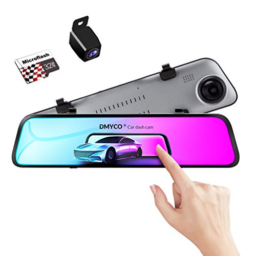 DMYCO Backup Camera Car Mirror Dash Cam