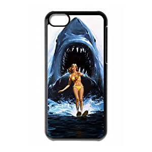 Jaws iPhone 5c Cell Phone Case Black yyfabd-248474