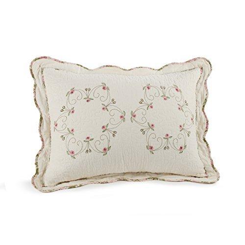 Modern Heirloom Collection Felisa Cotton Filled Bedspread, Standard Sham, 20 by 26-Inch by Modern Heirloom Collection ()