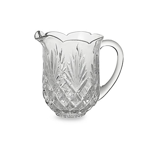 Godinger Dublin Crystal Shannon 46-ounce capacity pitcher with handle