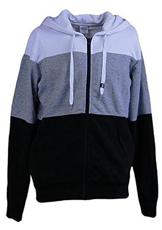 16a6f43090a5 Everlast Men Kapuzensweatshirt Multicolor (Grey Melange Black ...