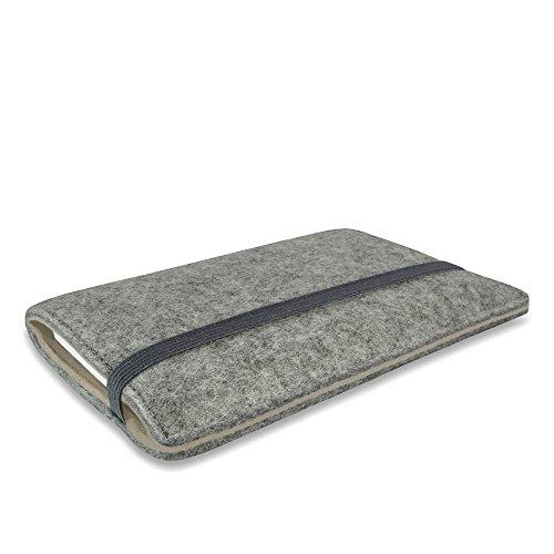 Stilbag Filztasche 'FINN' für Apple iPhone 6 - Farbe: hellgrau/beige