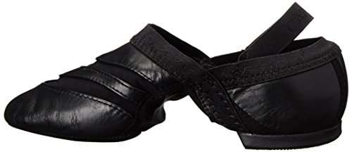 Capezio Womens Freeform Slip-On Jazz Shoe, Black, 9 M US