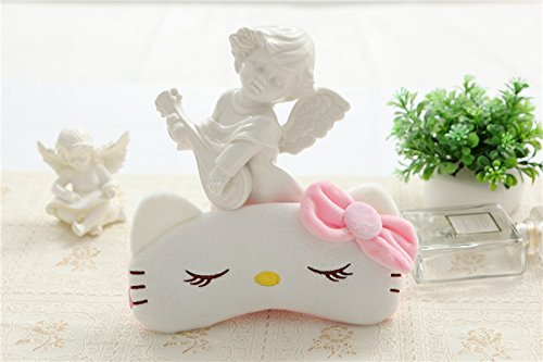 Hello Kitty Eye Mask - CJB Lovely Hello Kitty Eye Mask for Sleeping Travel Games KT Sleep (US Seller)