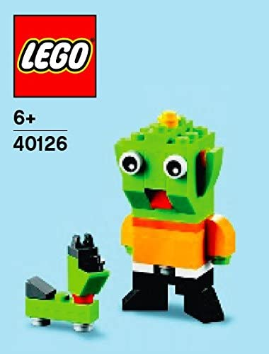 Lego Alien Parts & Instructions January 2015 Monthly Mini Model Build 40126