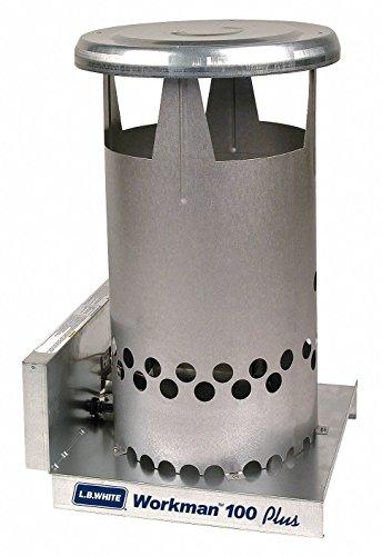 L.B. White Portable Gas Heater Workman, 100K BTU, Natural - Natural Gas Heater Portable