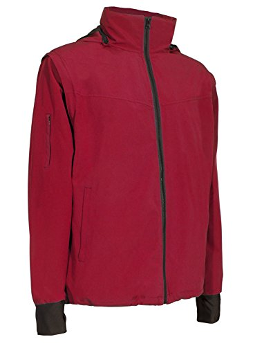 Joey Travel Jacket with Hidden Pockets (Men's) (Small, Red)