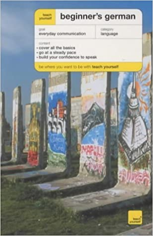 Teach Yourself Beginner's German New Edition (TYBL) by Rosi McNab (2003-09-26)