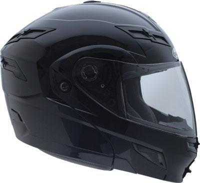G-Max GM54S Modular Helmet , Color: Black/Electric, Size: Sm 454024